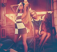 Ariana Grande & Iggy Azalea PROBLEM Apparel, Phone, iPad & Poster Design by Benikari47