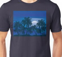 Palm Tree at Night 3 Unisex T-Shirt