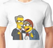 The League of Gentlemen - Tubbs & Edward - Simpsons Style! Unisex T-Shirt