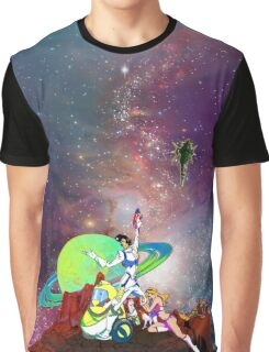 Dandy Vacation. In Space Graphic T-Shirt