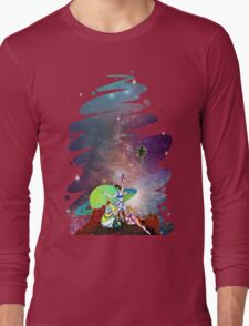 Dandy Vacation. In Space Long Sleeve T-Shirt