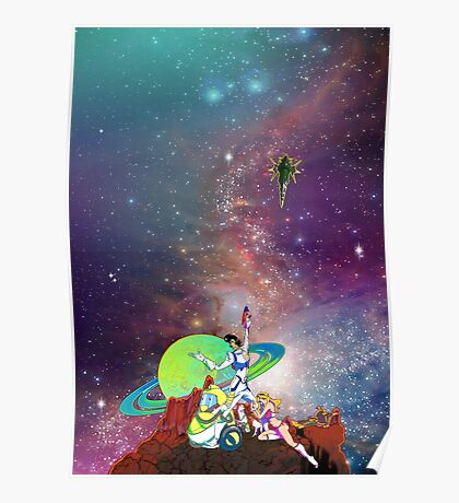 Dandy Vacation. In Space Poster