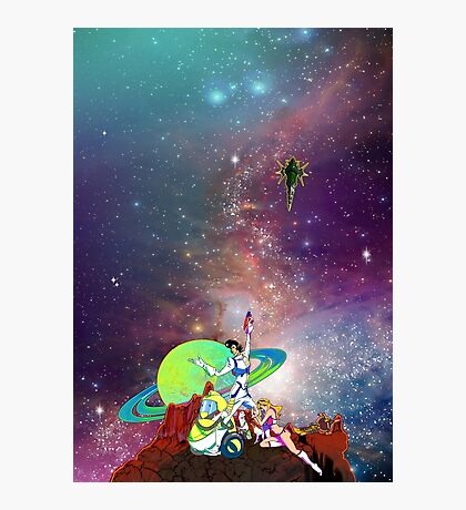 Dandy Vacation. In Space Photographic Print