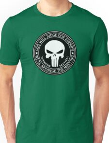THE PUNISHER - GOD WILL JUDGE OUR ENEMIES Unisex T-Shirt