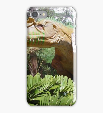 Stay out of the garden iPhone Case/Skin