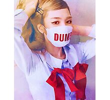 RED VELVET / DUMB DUMB / WENDY V3 / WATERCOLOR Photographic Print