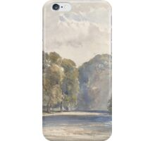 On the Wharfe, Bolton Abbey , William Callow iPhone Case/Skin
