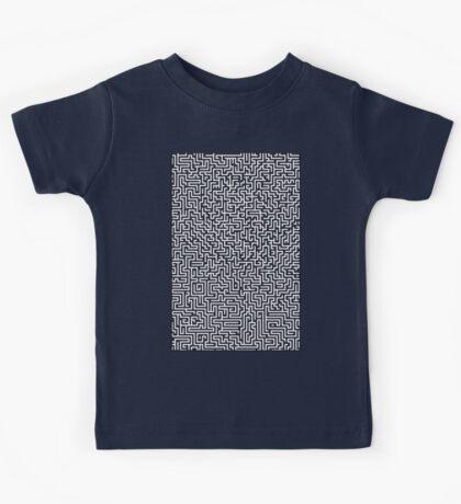 Hyper Maze TROPICAL SUNSET Kids Tee