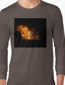 Burn baby burn Long Sleeve T-Shirt