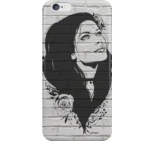 Girl Figure Bricks Graphics iPhone Case/Skin