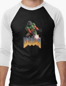DOOM SPACE MARINE (2) Men's Baseball ¾ T-Shirt