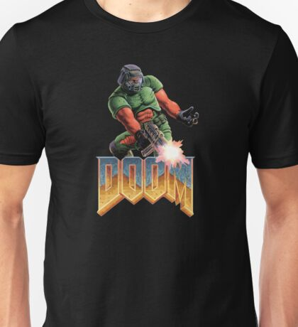 DOOM SPACE MARINE (2) Unisex T-Shirt