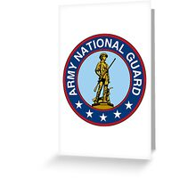 Army National Guard Insignia Greeting Card