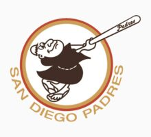 SAN DIEGO PADRES BASEBALL RETRO One Piece - Short Sleeve