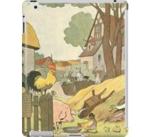 F is for Ferme - French Alphabet Animals iPad Case/Skin