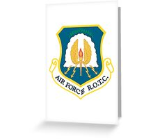 US Air Force R.O.T.C. Greeting Card