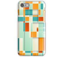 Colorful Geometric Background iPhone Case/Skin
