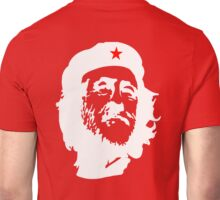 CORBYN, Comrade Corbyn, Leader, Labour Party, Politics, White on RED Unisex T-Shirt
