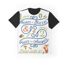 Force of Nature & Voice for Animals Graphic T-Shirt