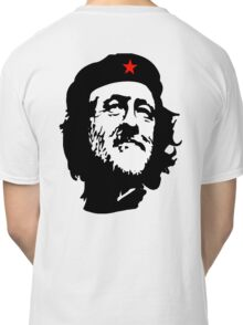 CORBYN, Comrade Corbyn, Leader, Labour Party, Black on White Classic T-Shirt