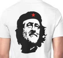 CORBYN, Comrade Corbyn, Leader, Polytics, Labour Party, Black on White Unisex T-Shirt