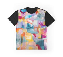 Barcelona Summer - Bright Abstract Graphic T-Shirt