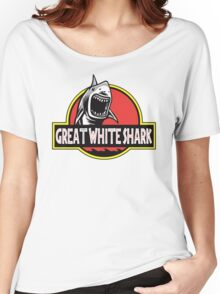 Jurassic Great White Shark Women's Relaxed Fit T-Shirt