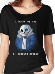 Sans Judgmental Women's Relaxed Fit T-Shirt