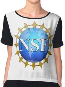 National Science Foundation Logo Chiffon Top