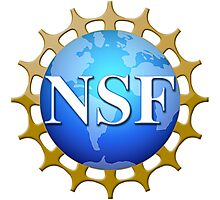 National Science Foundation Logo Photographic Print