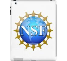 National Science Foundation Logo iPad Case/Skin