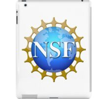 National Science Foundation Logo iPad Case/Skin