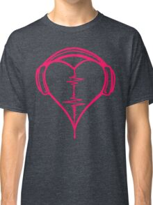 Heart Beat Music Spectrum Classic T-Shirt