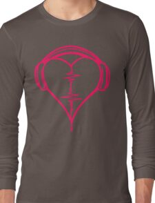 Heart Beat Music Spectrum Long Sleeve T-Shirt