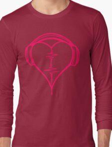 Heart Beat Music Spectrum Long Sleeve T-Shirt