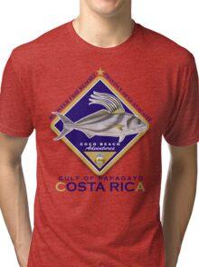 rooster fishing Tri-blend T-Shirt