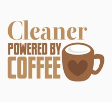 Cleaner powered by coffee Baby Tee