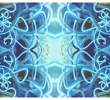 Blue Abstract Photographic Print
