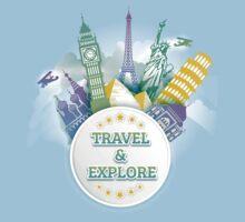 Travel & Explore One Piece - Short Sleeve
