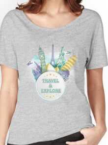 Travel & Explore Women's Relaxed Fit T-Shirt