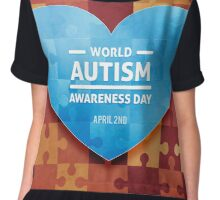 International Autism day Chiffon Top