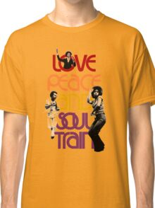 Love, Peace And Soul Train Classic T-Shirt