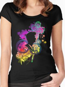 Dreamer of improbable dreams Women's Fitted Scoop T-Shirt