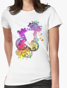 Dreamer of improbable dreams Womens Fitted T-Shirt