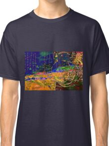 Abstract Motif Classic T-Shirt
