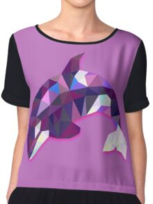 Orca Animals Gift Chiffon Top