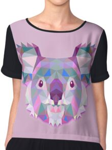 Koala Animals Gift Chiffon Top