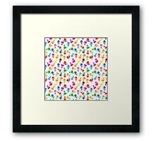 colorful kids Framed Print