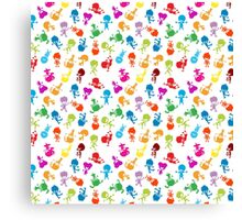 colorful kids Canvas Print