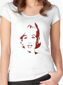 Marilyn Monroe Women's Fitted Scoop T-Shirt